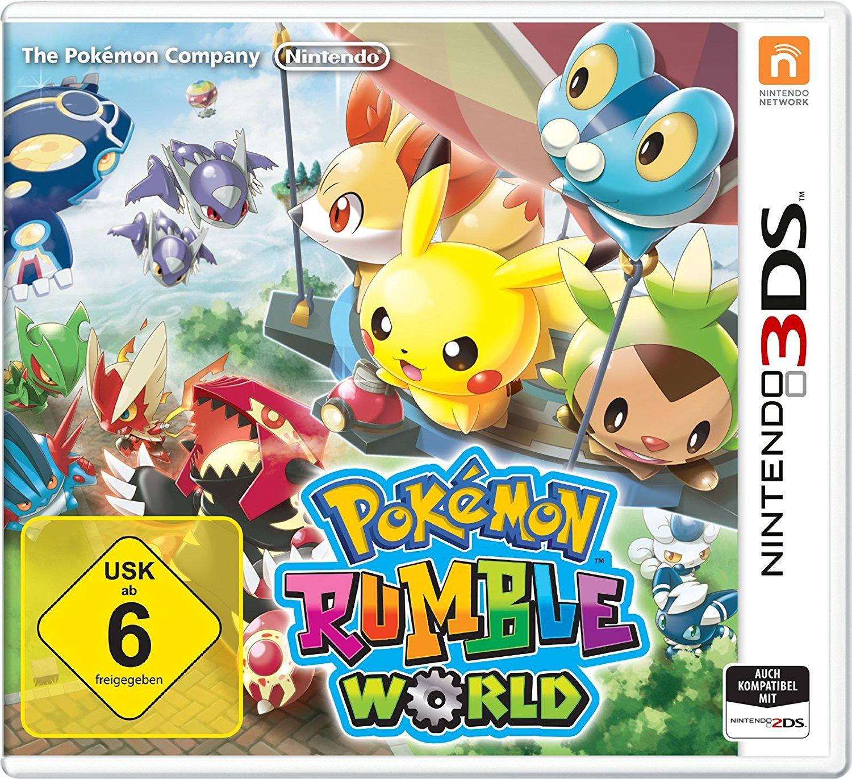[www.Amazon.de]  Pokémon Rumble World - [3DS]  für € 15,59 Gratis Versand für Prime Kunden - nächster Geizahlspreis € 30,49