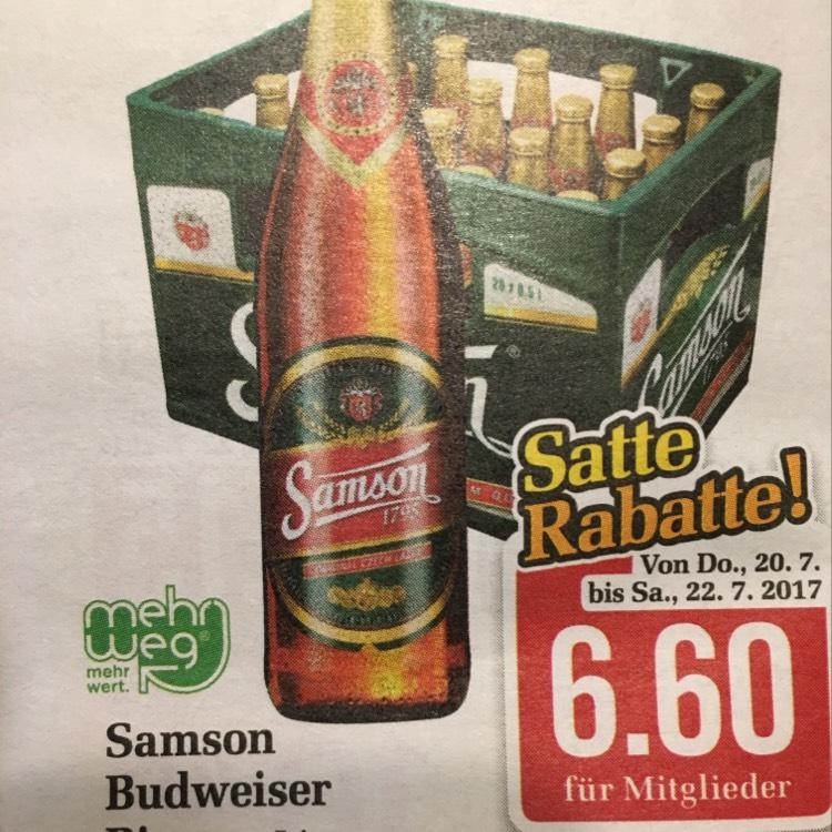 [Billa] 1 Kiste Bier 6,60€