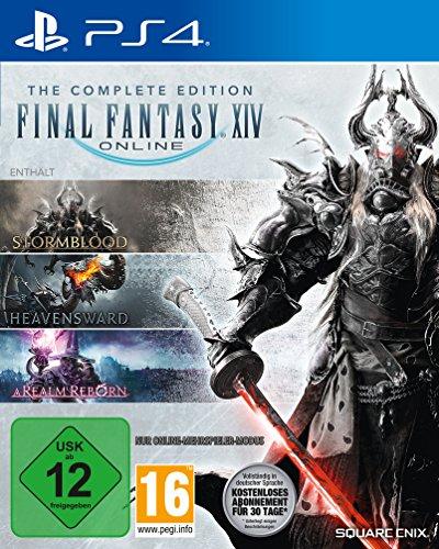 Amazon.de: Final Fantasy XIV Complete Edition (PS4) für 36,99€