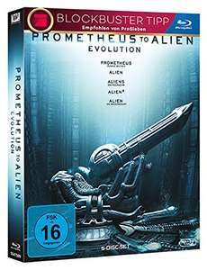 Amazon.de: Prometheus to Alien: Evolution (5 Blu-rays) für 18,16€