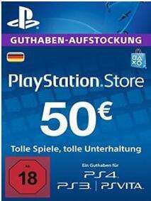 Sony PlayStation Network Card 50 Eur (Deutschland) - 43,99 €