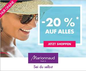 [marionnaud] -20% auf fast Alles - nur online bis 23.7.2017