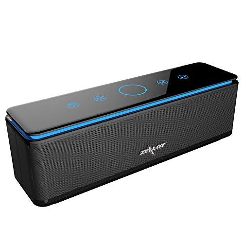 Zealot S7 26W LED Bluetooth Lautsprecher, mit 4 Treiber, Touch-Kontrolle