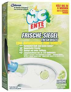 Wien mitte/the mall: Gratis WC Ente Frische-Siegel