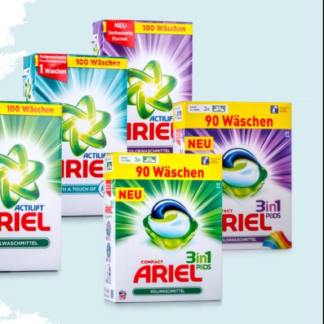 [Hofer] ARIEL Voll-/Color-waschmitttel 3in1-Pods 90 Wäschen