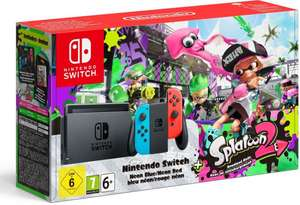 Weltbild: Nintendo Switch Konsole - Splatoon 2 Bundle für 323,87€
