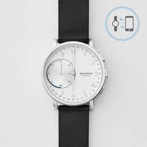 Skagen: Hagen Connected Hybrid Smartwatch Leder um 103,20€