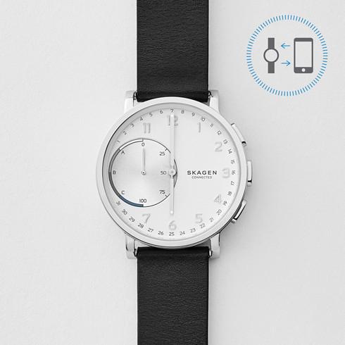 Skagen: Hagen Connected Hybrid Smartwatch Leder für 103,20€