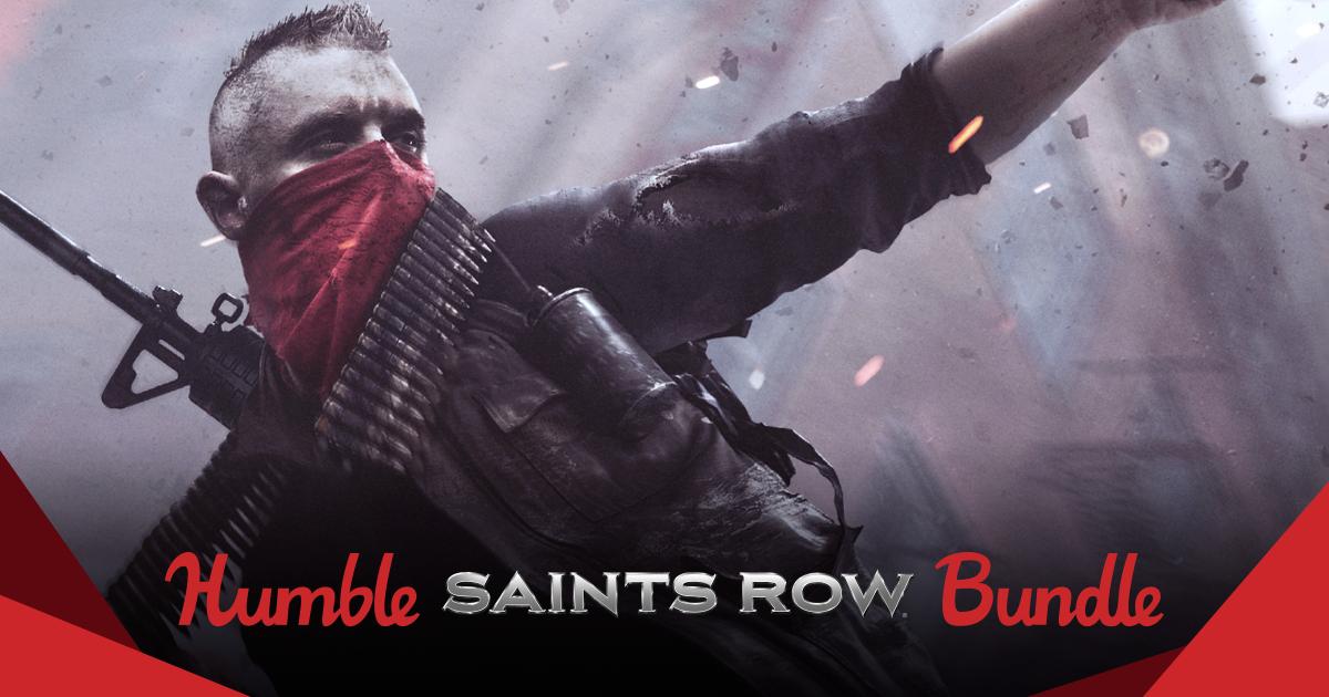 Humble Saints Row Bundle - bis zu 12 Spiele (Steam) ab 0,85€