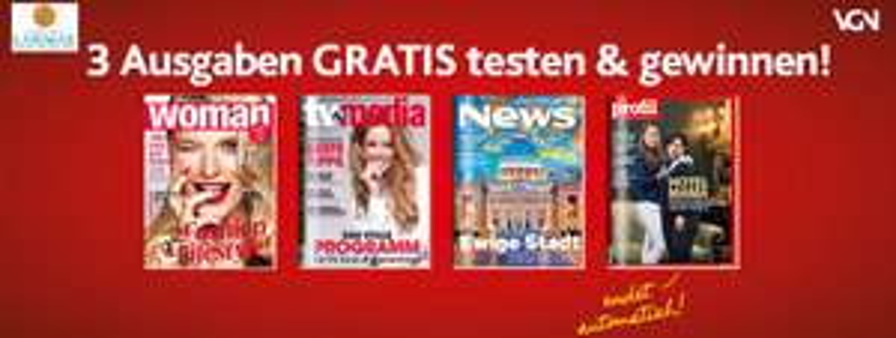 WOMAN, TV-MEDIA, News oder profil kostenlos testen