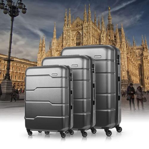 TOMSHOO Luxury 3 teiliges Hartschale Kofferset für 52,78 Euro