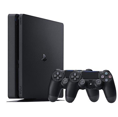 Amazon.de: Playstation 4 Slim schwarz, 500GB, + 2. Controller für 223,87€ // Silber od. Gold + 2. Controller für 249€ // 1TB schwarz + 2. Controller für 249€