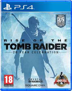 Zavvi.co.uk: Rise of the Tomb Raider - 20 Year Celebration Edition um 21,22€ (PS4)
