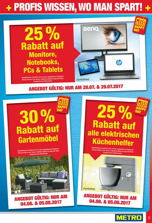 [Metro] -25% auf Monitore, Notebooks, PCs & Tablets