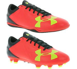 UNDER ARMOUR Spotlight Schuhe Fußballschuhe Hallenschuhe In- & Outdoor Rot