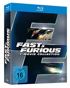 Amazon: Fast & Furious 1-7 - Box [Blu-ray] für 19,97€