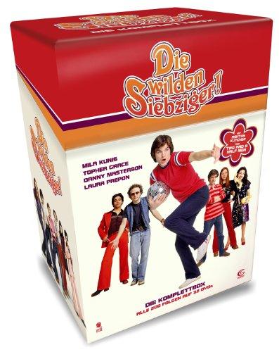 [Amazon Prime] Die wilden Siebziger - Die Komplettbox (32 DVDs) für 25,18€