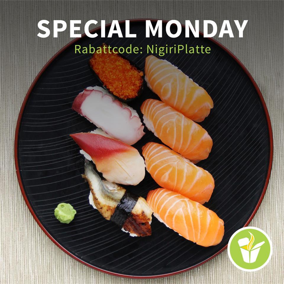 [mjam.at] Special Monday - 3€ Rabatt von 16-20 Uhr