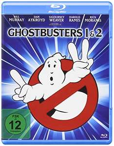 Amazon.de: Blu-ray Ghostbusters I & II, 4K Mastered um 8,03 €