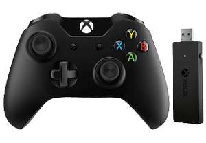 [Saturn] MICROSOFT Xbox One Controller + Wireless Adapter für Windows für 39,-€ Versandkostenfrei