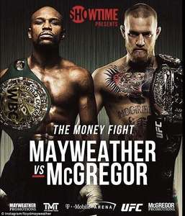 [DAZN] Mayweather vs McGregor KOSTENLOS
