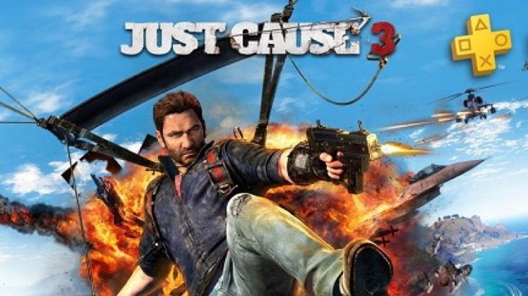 PS+ Spiele im August: Just Cause 3!!