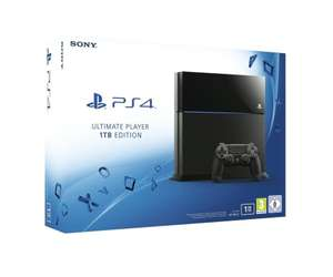 [www.AMAZON.de]  PlayStation 4 - Konsole Ultimate Player 1TB Edition [CUH-1216B]  für € 252,10