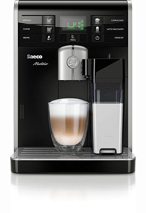 (Amazon) Angebot des Tages: Saeco HD8769/01 Moltio Kaffeevollautomat, integrierte Milchkaraffe, schwarz