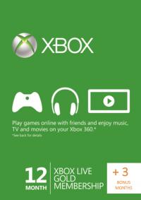 Xbox Live Gold 15 Monate für 41,87€ [CDKeys]
