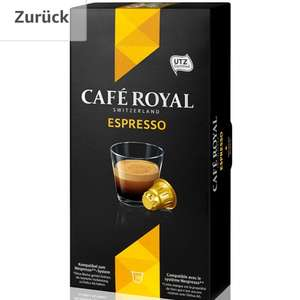 50 Kaffekapseln für 2,82€ - Café Royal Espresso (Amazon)