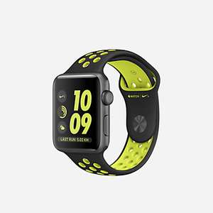 [Nike Store] Apple Watch Series 2 Nike+ 42mm/38mm mit Sportarmband für 313,97€/292,97€