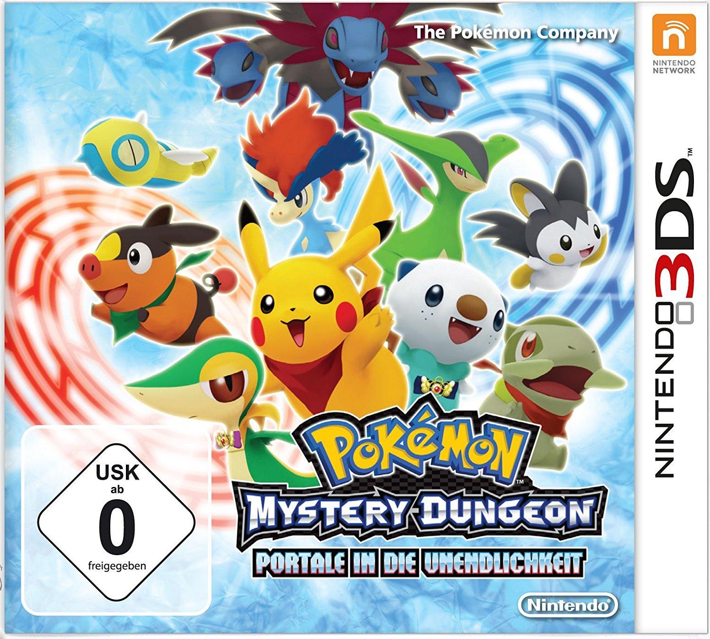 Amazon: Pokémon Mystery Dungeon: Portale in die Unendlichkeit (3DS) für 19,60€