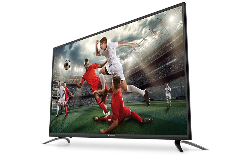 Media Markt Prospekt - Beispiel: STRONG SRT 49FX4003 Full HD TV um € 369,- statt € 399,90
