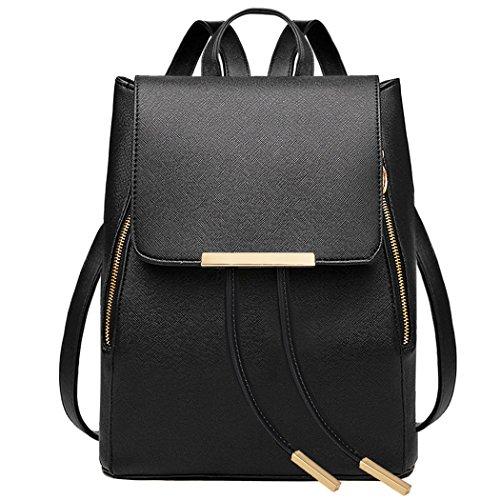 Coofit Damen Rucksack Umhängetasche Schulrucksäcke Leder Reise Daypacks Tasche Schulranzen für 16,99€