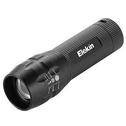 [Amazon.de] (65% Rabatt) Taschenlampe LED T6 Sehr Helles Licht Flugzeug-Klasse Aluminium IPX6 Wasserfest, Schwarz nur 3,49€