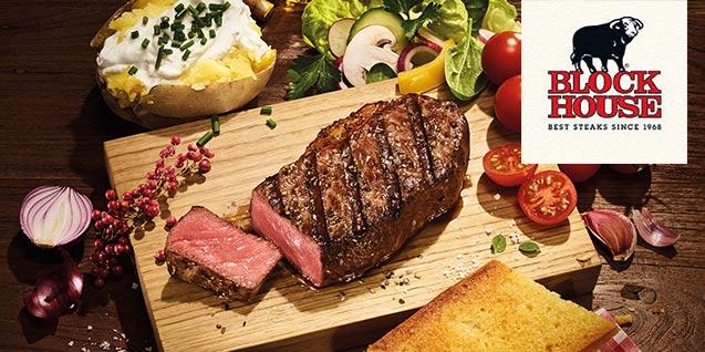 Steak-Genuss für 2 Personen am Wiener Naschmarkt