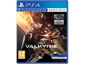 Media Markt: div. PlayStation VR Games für 15€ - u.a. mit EVE: Valkyrie, Battlezone