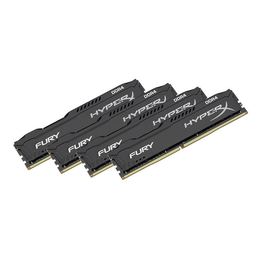 HyperX FURY HX421C14FBK4/32 32GB Arbeitsspeicher kit (4x8GB) 2133MHz DDR4 110 euro billiger als normal