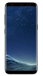 [Amazon] Samsung Galaxy S8 Smartphone (5,8 Zoll (14,7 cm) Touch-Display, 64GB interner Speicher, Android OS) midnight black / orchid grey