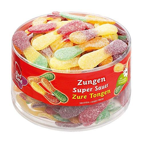 Red Band Zungen super sauer 100 Stück im Sparabo für 3,20€ und Red Band Fruchtgummi Schnuller (1 x 1.15 kg) 3,37€ [Amazon Plus Produkt]