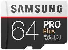 Samsung Pro Plus Micro SDXC 64GB Class 10 inkl. Adapter [Amazon] [Vorbestellung]