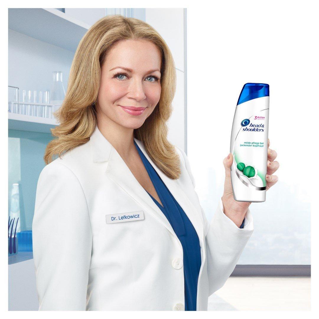 Head & Shoulders Milde Pflege Bei Juckender Kopfhaut Anti-Schuppen Shampoo, 6er Pack (6 x 300 ml)