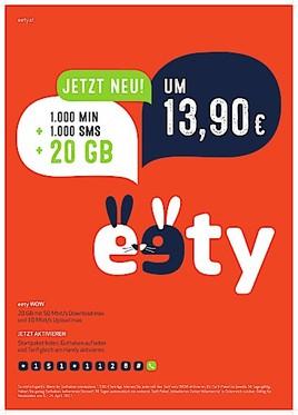 Eety WOW bis 30. September mit 20 GB