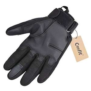 Coofit Tactical Army Full Finger Gloves Winter Motorcycle Gloves​ für 10,42€