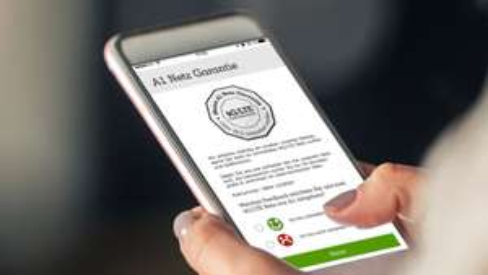 """(Info A1) """"Mein A1"""" App bewerten --> 24 Stunden unlimitiert surfen!"""