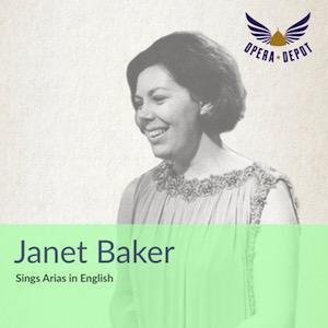 """[Opera Depot] """"Janet Baker sings Arias in English"""" als Gratis-Download"""