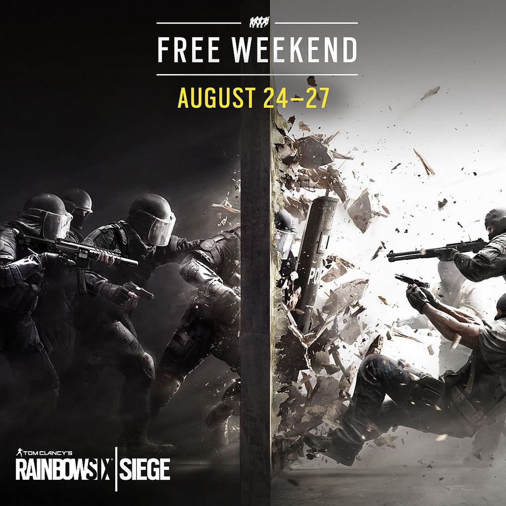 Rainbow Six Siege (PC / PS4 / Xbox One) vom 25. bis zum 27. August kostenlos spielen