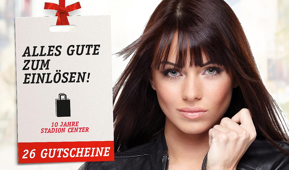 Stadion Center Wien Gutscheinheft - u.a. mit 10% Rabatt bei Libro