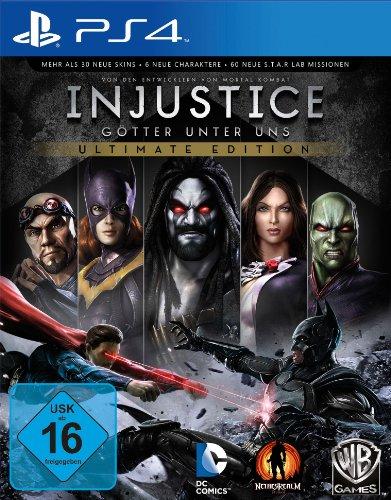 Amazon: Injustice - Ultimate Edition (PlayStation 4) für 14,97€ - GameStop Eintauschliste