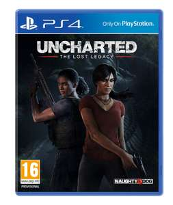 [Amazon.co.uk] Uncharted: The Lost Legacy (PS4) für 30,25€